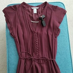 H&M feminine dress, size 2